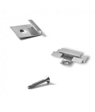 Set elemente de fixare Deck WPC Gamrat 3mm pt 2mp