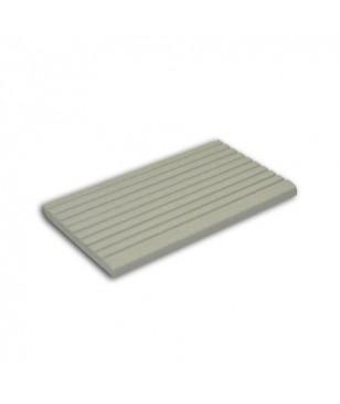 Profil Terminatie Deck WPC Gamrat Gri 3000x60x6mm