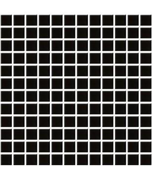 Mozaic Negru din Sticla Midas