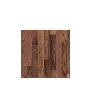 Parchet lemn masiv maro cu accent violet nuc Heritage Solid