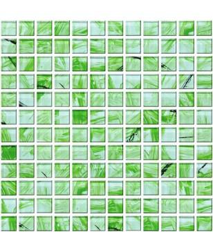 Mozaic Verde din Sticla Midas