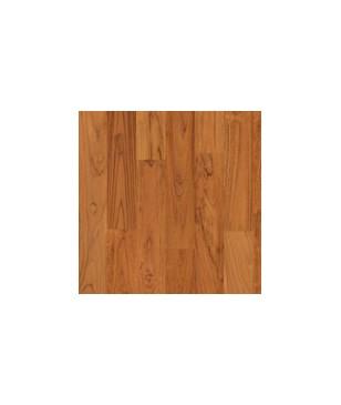 Parchet lemn masiv maro cu nuanta rosie tec Heritage Solid