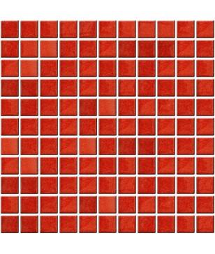Mozaic Rosu din Sticla Midas