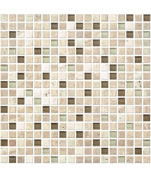 Mozaic in Multiple Culori de Maro din Piatra Midas