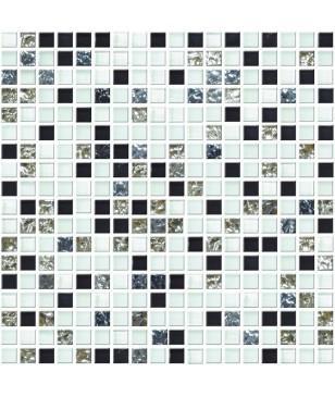Mozaic in Multiple Culori din Sticla & Piatra Midas